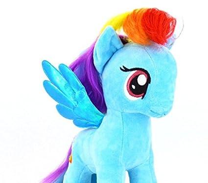 Buy ZHAOKAOFEI Rainbow Dash Plush Unicorn Horse Stuffed