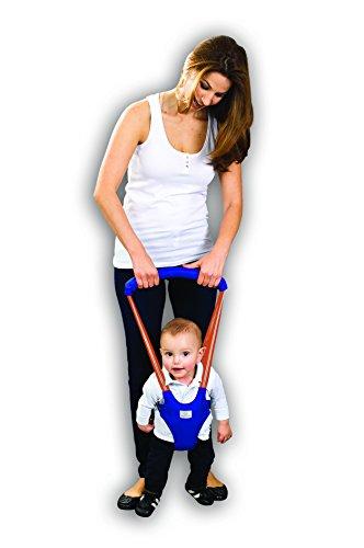 Arnés entrenador para caminar - Bebé (Azul con naranja)