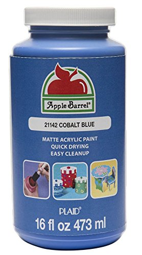 Apple Barrel Acrylic Paint in Assorted Colors (16 Ounce), 21142 Cobalt Blue