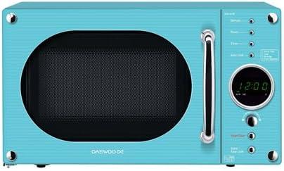 Daewoo KOR6N9RT - Microondas , 800 W, color azul, enchufe UK ...