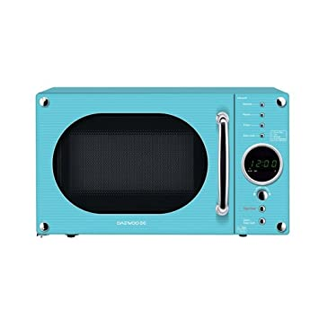 Amazon.com: Daewoo 20 Litre 800 Watt Turquoise Microwave ...