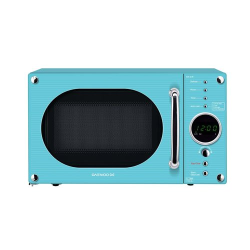 Daewoo KOR6N9RT - Microondas , 800 W, color azul, enchufe UK ...