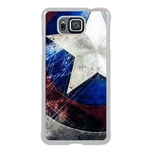 Samsung Galaxy Alpha Captain America White Screen Phone Case Newest and Custom Design