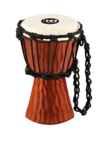 Meinl Mini Nile Series Djembe Natural Mahogany ()