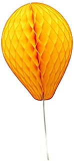 product image for 6-Pack 11 Inch Honeycomb Tissue Paper Balloon (Gold)