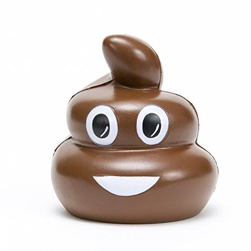 The Original Poop Stress Ball Emoji - AMAZING Gift! ()