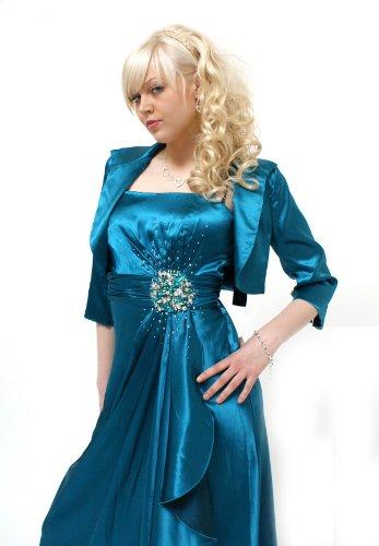 Young-Fashion -  Coprispalle  - Basic - Maniche a 3/4 - Donna nero 44