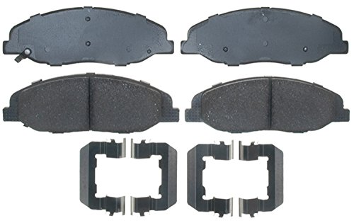 ACDelco 17D1332CH Professional Ceramic Front Disc Brake Pad Set