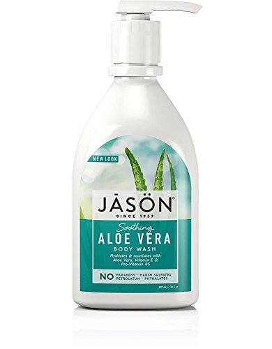 Jason Natural Products Body Wash Pure Soothing Aloe Vera, 30 Fluid Ounce ()