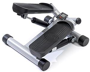 SportPlus Side-Stepper mit Zugbändern und Trainingscomputer, SP-MSP-001