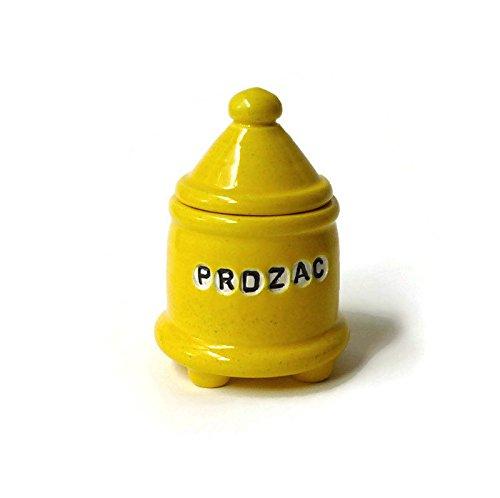 yellow-ceramic-trinket-jar-with-feet-prozac