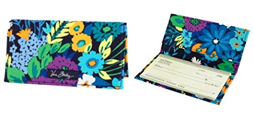 Vera Bradley Checkbook Cover - Vera Bradley Checkbook Cover in Midnight Blues