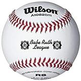 Wilson A1082 Babe Ruth League Series Baseball (12-Pack), White