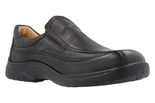 JOMOS - Herren Slipper - Schwarz Schuhe in Übergrößen