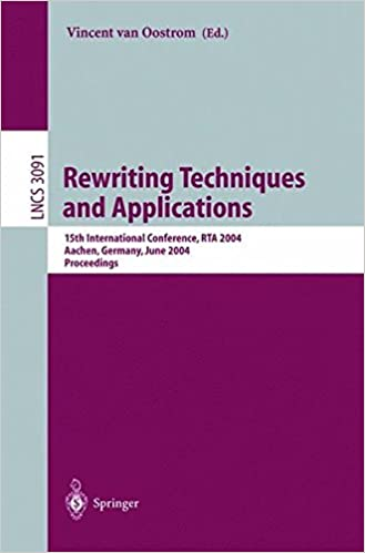 Rewriting Techniques and Applications: 15th International