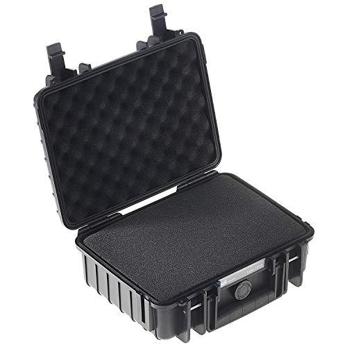 Type 1000 Black Outdoor Case with Custom Foam