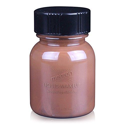 [Mehron Liquid Face Paints - Sable Brown BR (1 oz)] (Group Of 3 Costume Ideas)