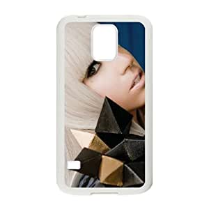 Lady Gaga Samsung Galaxy s5 White Cell Phone Case GSZWLW3544 Phone Case For Boys
