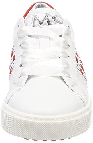 agnelotto Bianco Marip Blanco Para Zapatillas 26422 Mujer nqnAaPFvw