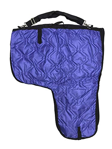 AJ Tack Wholesale Western Horse Saddle Carrier Cover Bag Large Poly Fill 420D Padded Purple -