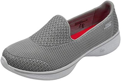 Skechers Performance Women's Damen Walk 4 Propel Walking Shoe Sneaker, schwarzweiß