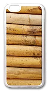 ACESR Bamboo Nice iPhone 6 Cases, TPU Case for Apple iPhone 6 (4.7inch) Transparent