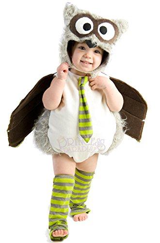 Princess Paradise Edward the Owl Costume, X-Small