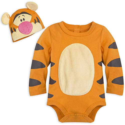 (Disney Tigger Costume Bodysuit with Hat for Baby - Size 9-12 MO Multi)