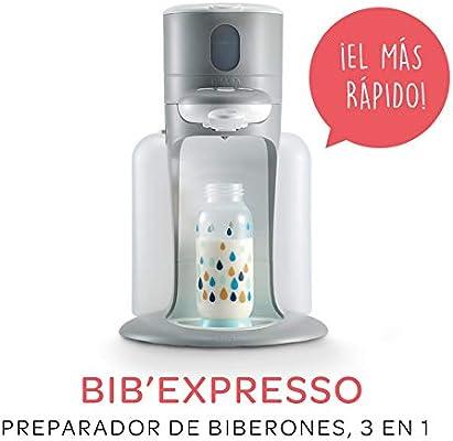 BEABA BibExpresso Preparador de Biberones 3 en 1, Gris: Amazon.es ...
