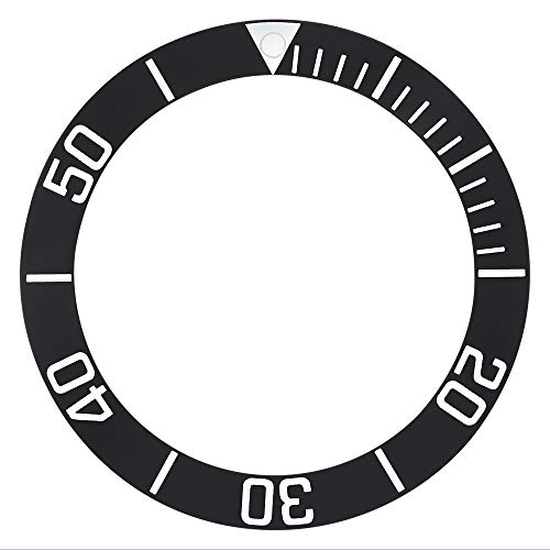 - Bezel Insert for 43MM TAG HEUER AQUARACER 300M Chrono CAN1011.BA0821 Black