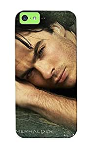 PpBMUXg2398qMEGI Tough Iphone 5c Case Cover/ Case For Iphone 5c(ian Somerhalder ) / New Year's Day's Gift