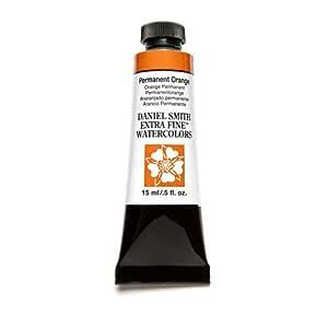 Daniel Smith Extra Fine Watercolor 15ml Paint Tube Permanent Orange