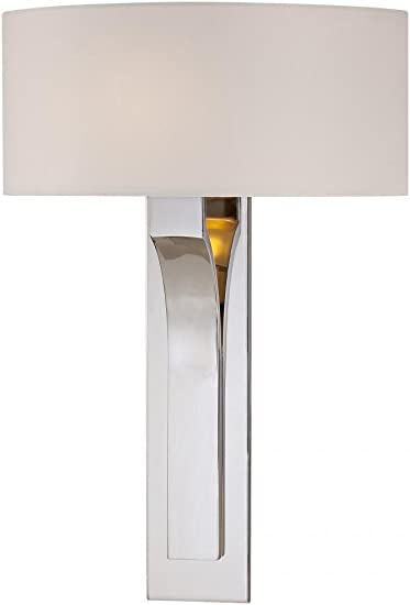"Kovacs P470-084 1 Light 11.25/"" Height ADA Compliant Wall Sconce with Square Shad"