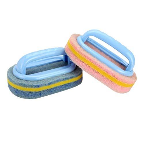 Flexible Plastic Sponge Cleaning Fibre Cotton Bathroom Batht