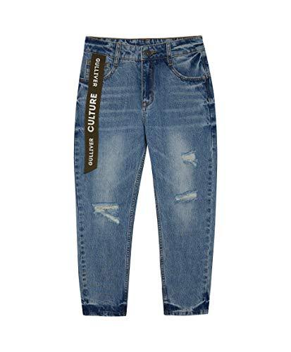 GULLIVER Jongens Jeans Broeken Kinderen Jeans Blauw Denim Recht Regular Fit Katoen Elastisch Teens Boys 9-14 Jaar