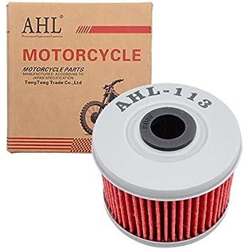 amazoncom ahl  oil filter  honda trxfm fourtrax rancher     automotive