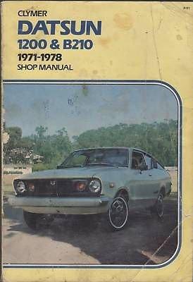 1971-1978 DATSUN 1200 & B210 SHOP MANUAL