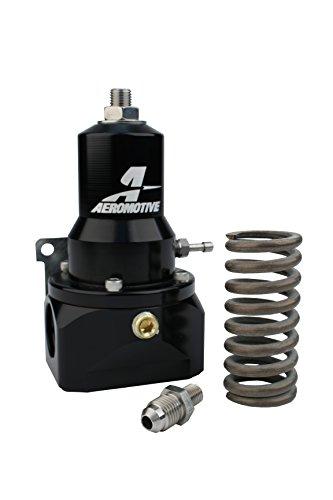 Aeromotive 13134 Fuel Pressure Regulators (Adjustable, 30-120 Psi.500 Valve, (2) Inlets, -10 Return) (Ford Regulators Aeromotive)