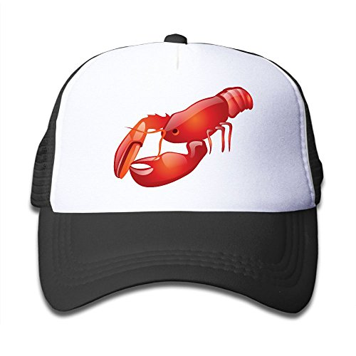 Rhfjgk Ldjg Mesh Baseball Cap Sun Hats Kids Cap 3D Crawfish Adjustable Boy Girls (Knit Cap Driver)