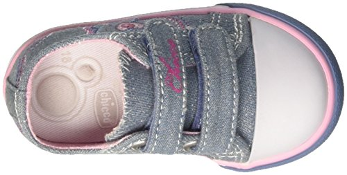 Chicco Gessica, Sneakers para Bebés Azul (Jeans)