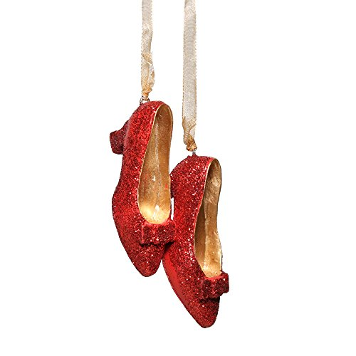 Glitter Slippers Christmas Ornament Decoration product image