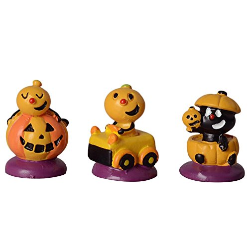 Fancystar Halloween Toys Ghost Doll Finger Funny Toys 3Pcs/Set Story Finger Puppets Pumpkin Ghost Face Dolls Halloween Toys Gift for Children Toys Party Decorations DIY Ornaments -