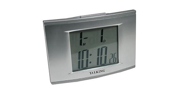 Talking 4 - Reloj despertador con retroiluminación ...