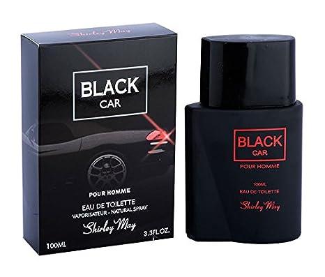 abd4e859f Shirley May Black Car Eau de Toilette for Men, Black, 100 ml (Imported