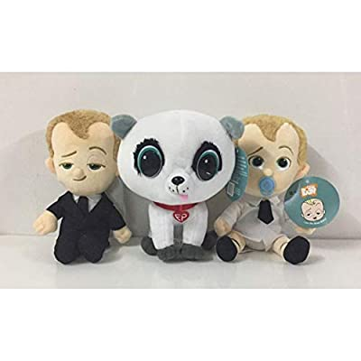 Lironheel Plush Toy World Cute boss Baby Toy Birthday Gifts Creative Parent-Child Interaction Colorful Fun Safety: Home & Kitchen
