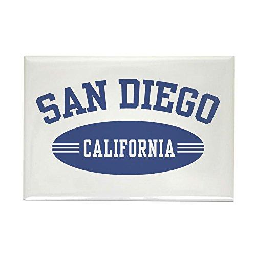 CafePress San Diego Rectangle Magnet, 2