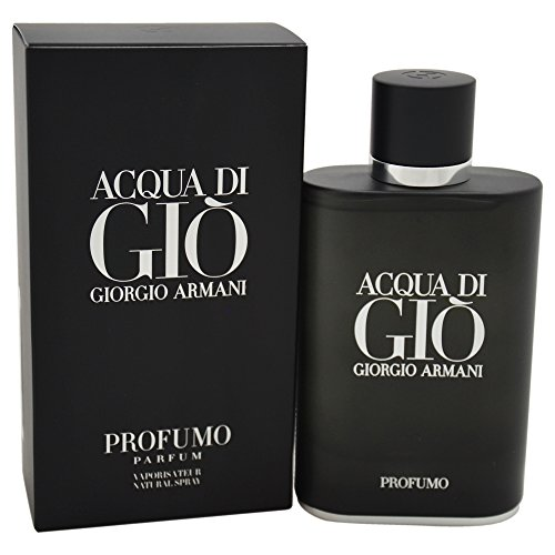 For Acqua Di Armani Gio By Men Giorgio - Giorgio Armani Aqua di Gio Profumo, 4.2 Fluid Ounce