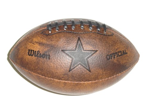 NFL Dallas Cowboys 9 inch Mini Leather Official Football