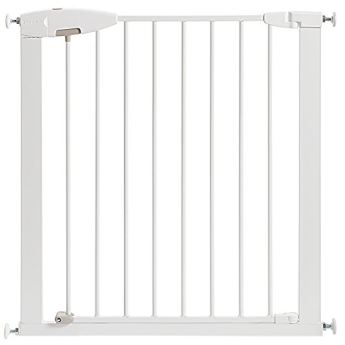 Munchkin Easy Close Metal Baby Gate, White