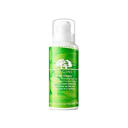 Por Todos Los Verdes Espumantes Máscara De Limpieza Profunda Con El Té Verde, La Espirulina